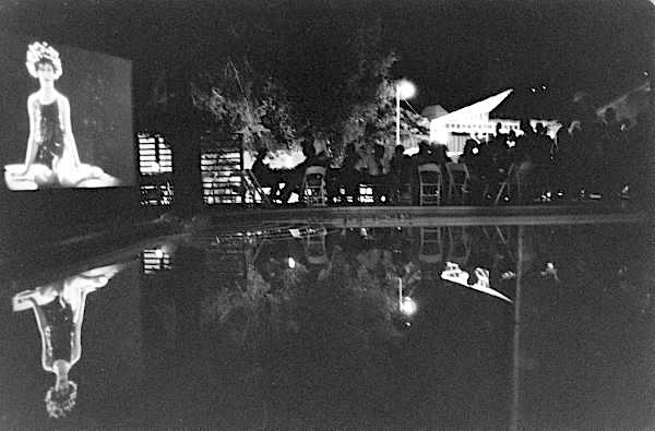 Closing night party of the Garden of Allah hotel, August 1959