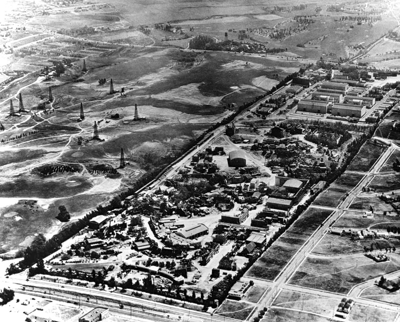 Beverly Hills Oil Field 1928