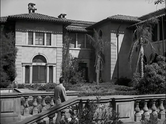 Norma Desmond S Mansion In Quot Sunset Boulevard Quot 1950 At