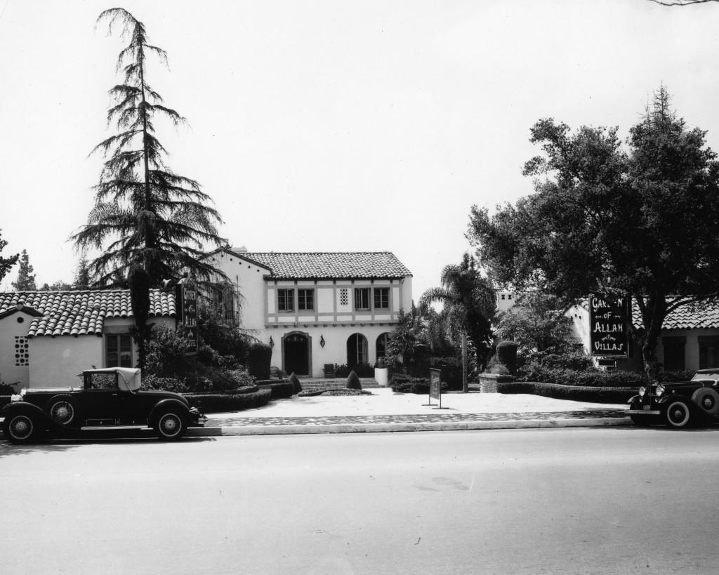 Garden of Allah 1934.