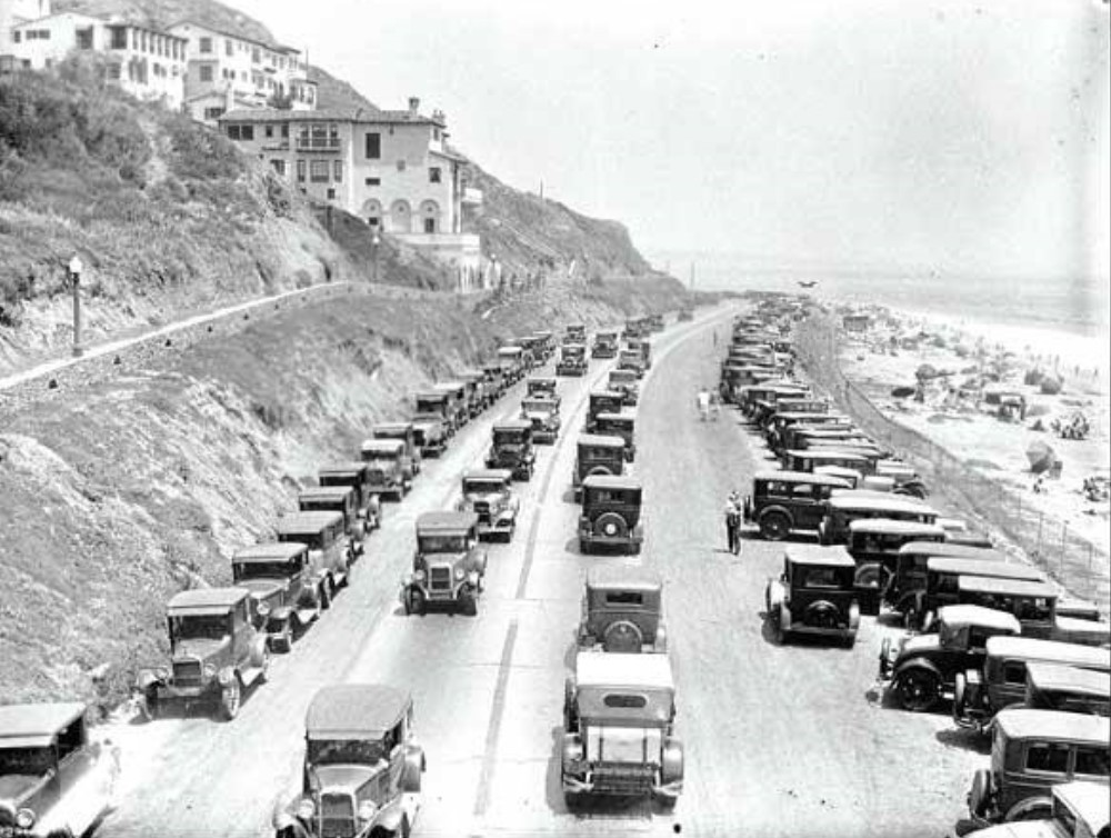View Looking South On Roosevelt Highway Later Pch